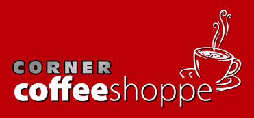 Corner Coffee Shoppe Logo